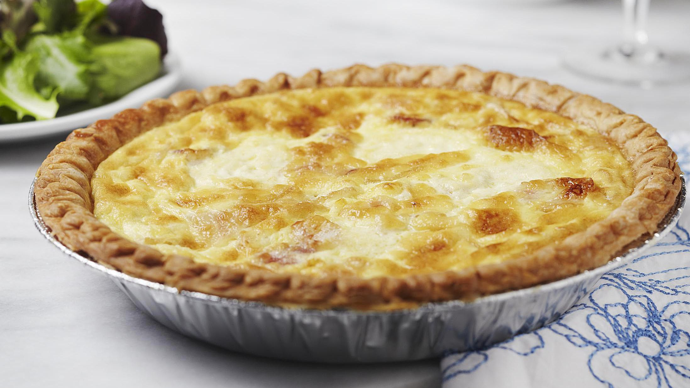 Quiche Lorraine is an Easy and Classic