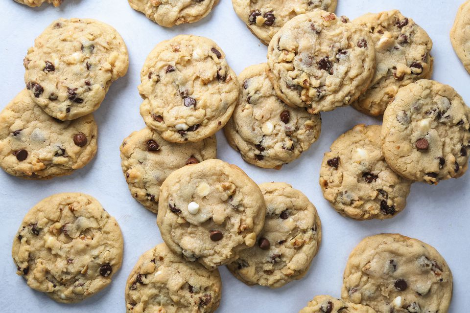 Colossal Double Chocolate White Chip Cookies