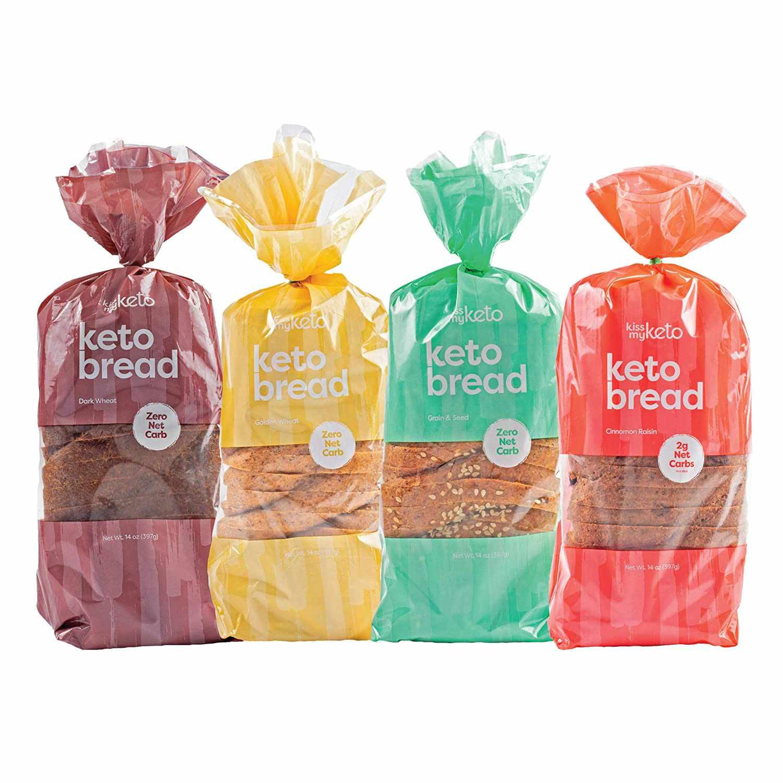Kiss My Keto Low-Carb Bread