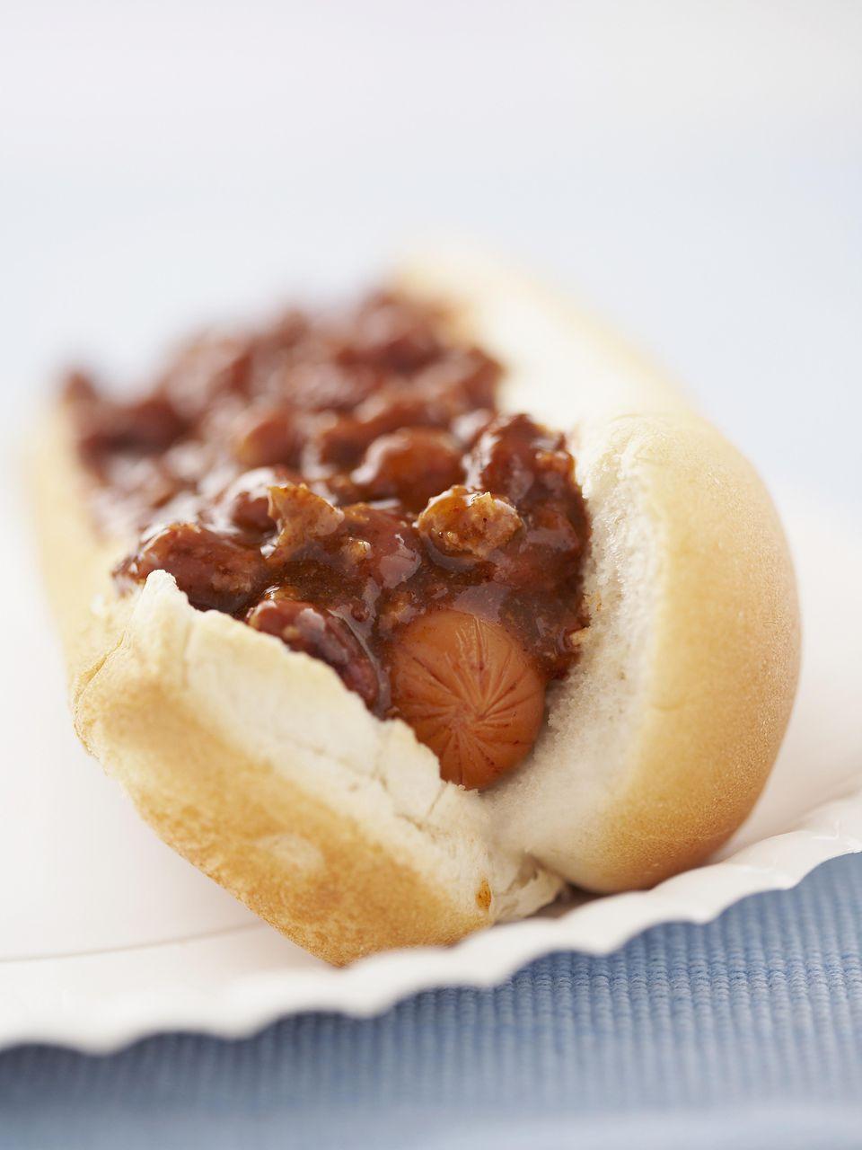 Crockpot Chili Dog