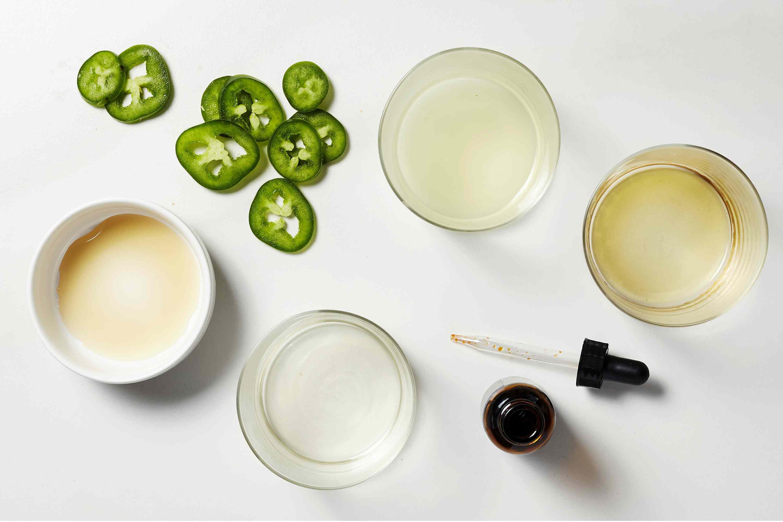 Jalapeño Margarita ingredients