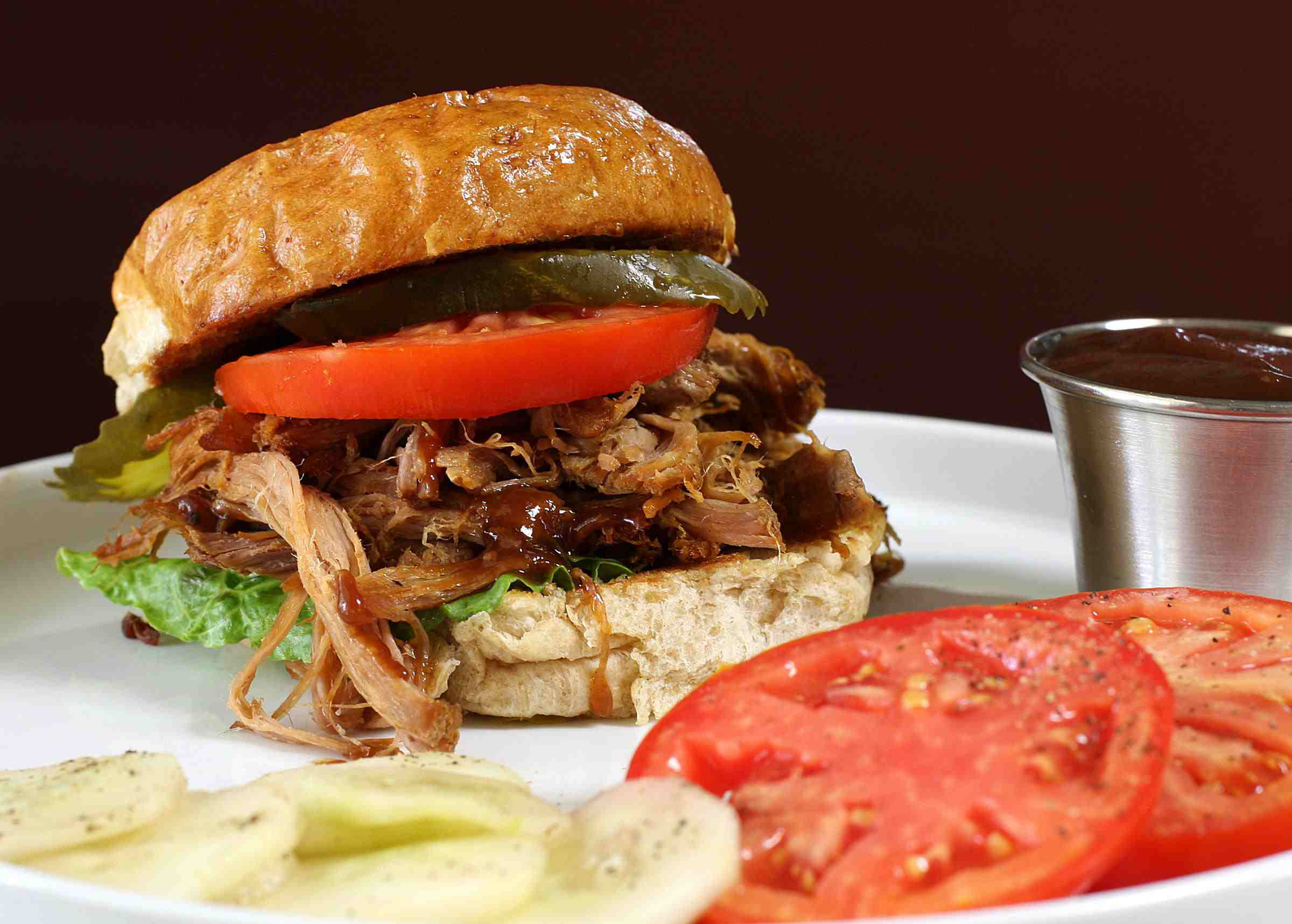 Slow Cooker Pulled Pork With Peppers