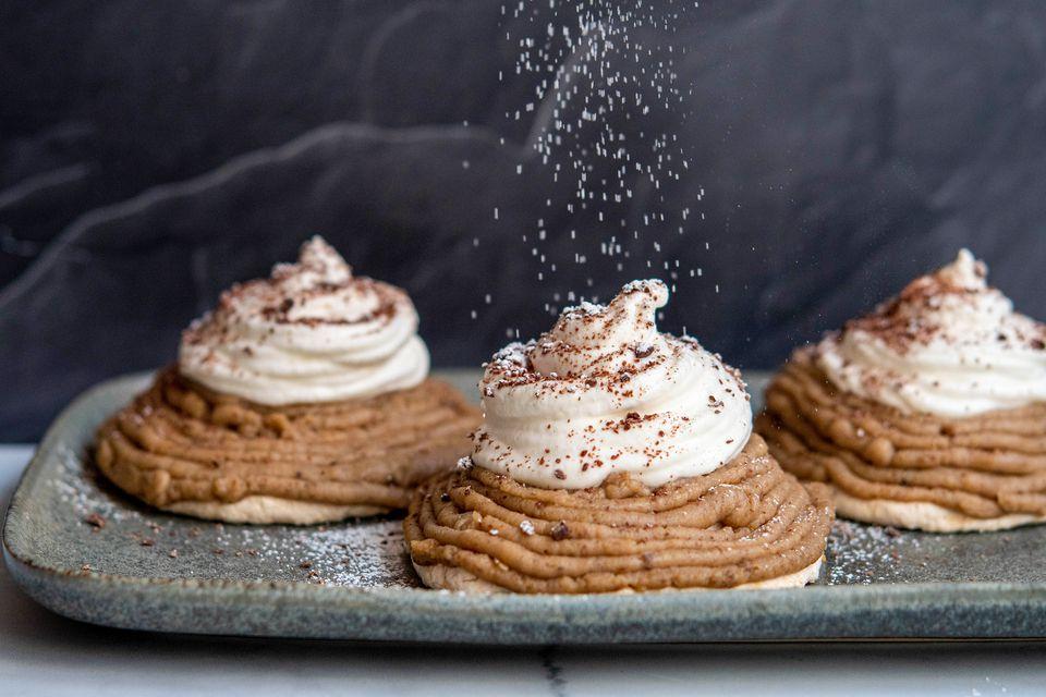 Mont Blanc Chestnut Dessert