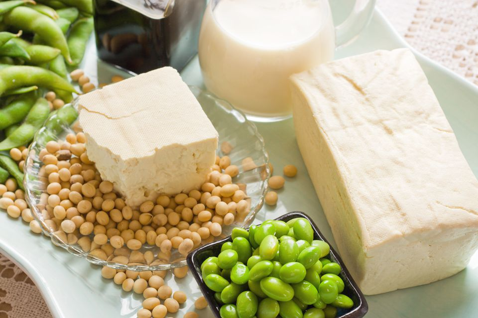 Soy beans and soybean products