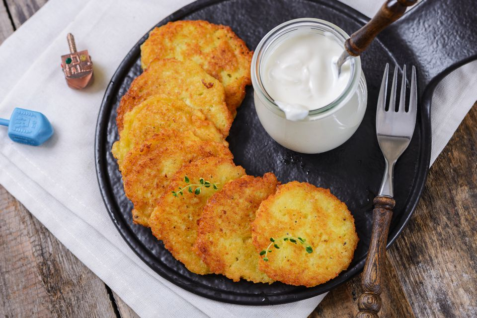 Traditional Hanukkah Potato Latkes