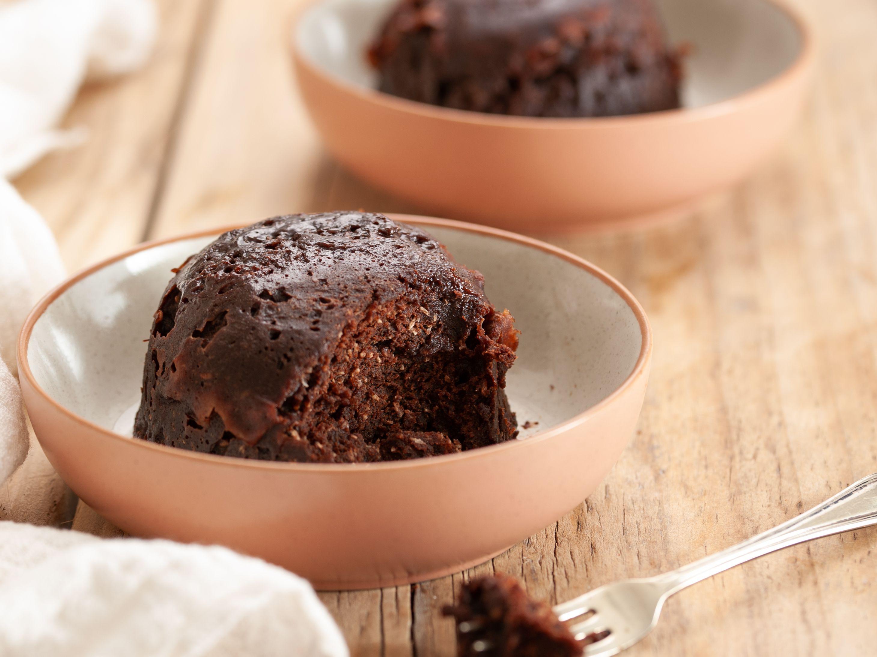 Chocolate Coconut Mug Cake Recipe