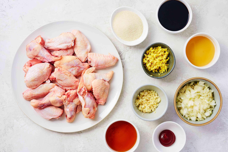 Ingredients for Korean BBQ ingredients