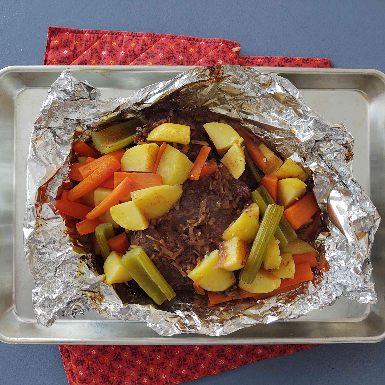 Budget Chuck Steak Dinner Tester Image