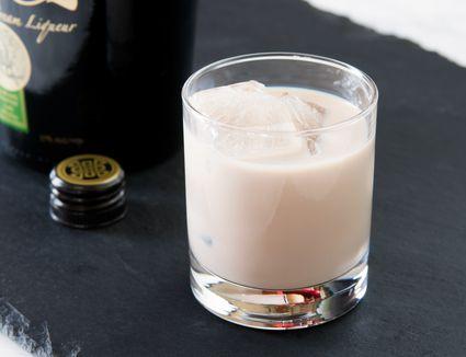 Irish Cream Liqueur on the Rocks