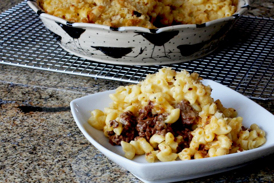 Sloppy Joe Macaroni and Cheese