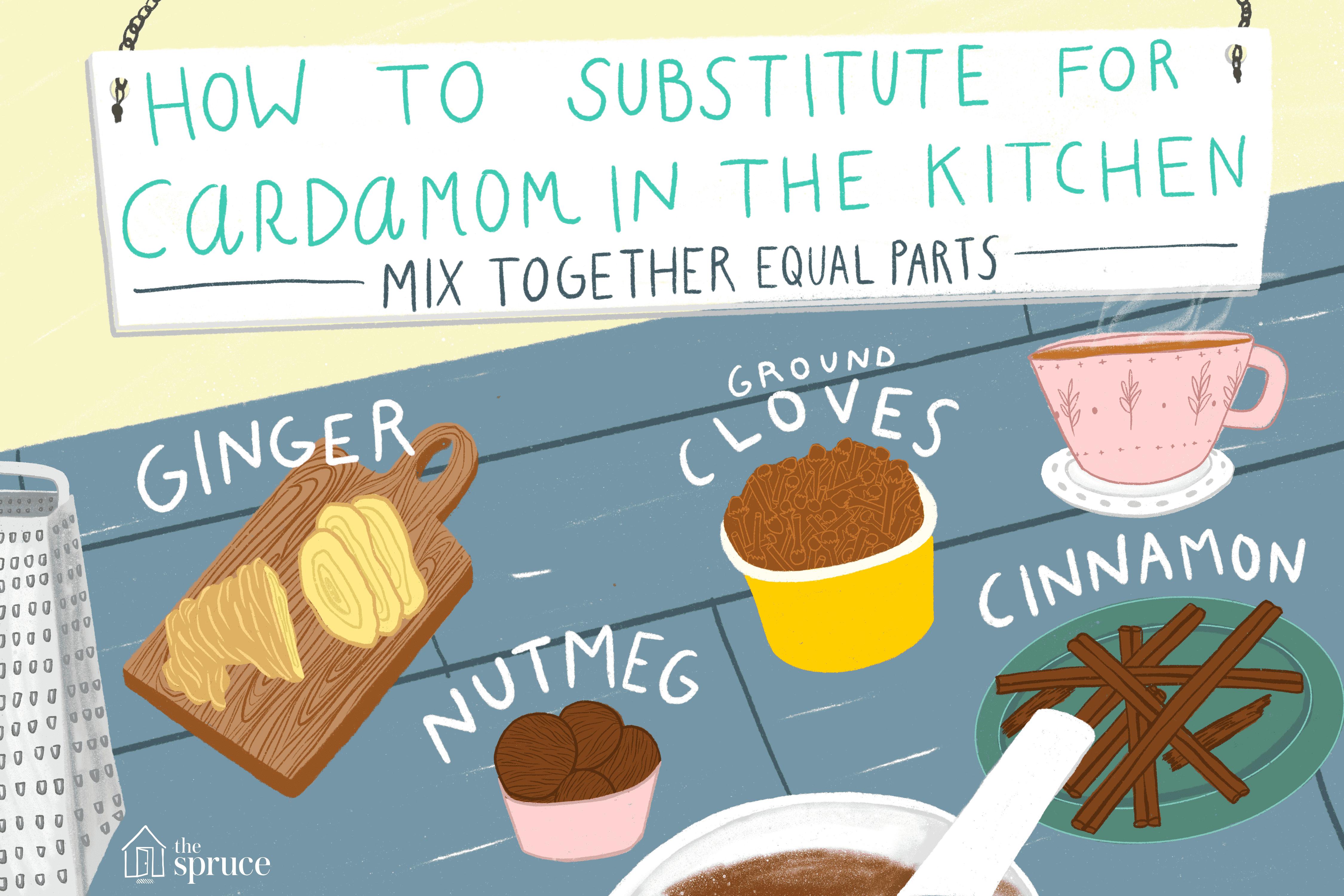 cardamom substitutes