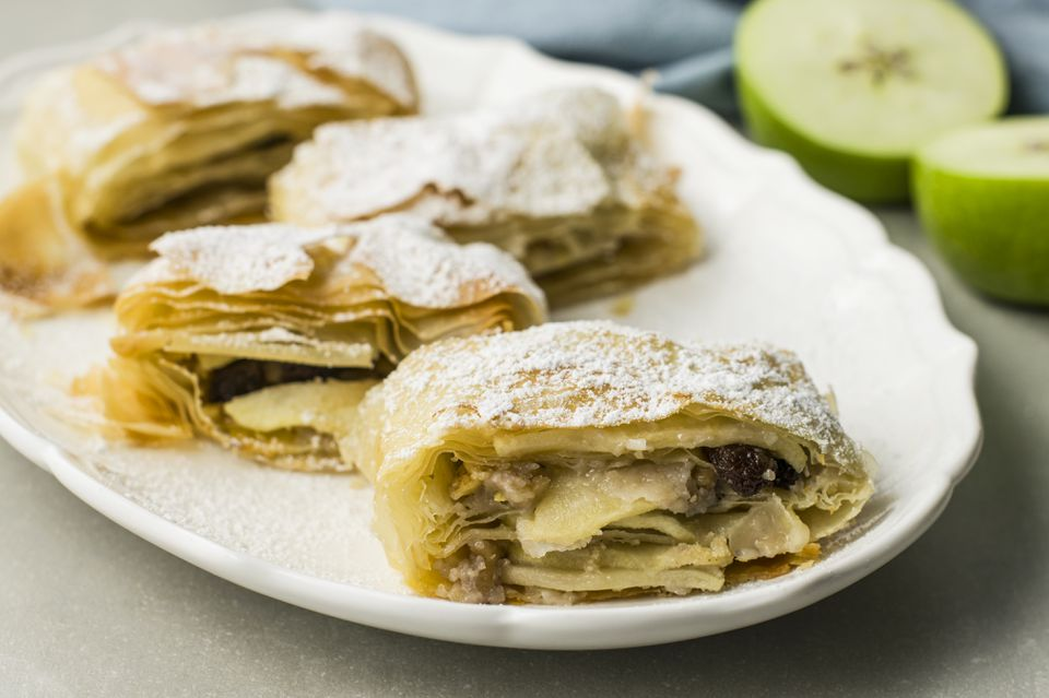Klara's traditional Croatian apple strudel recipe