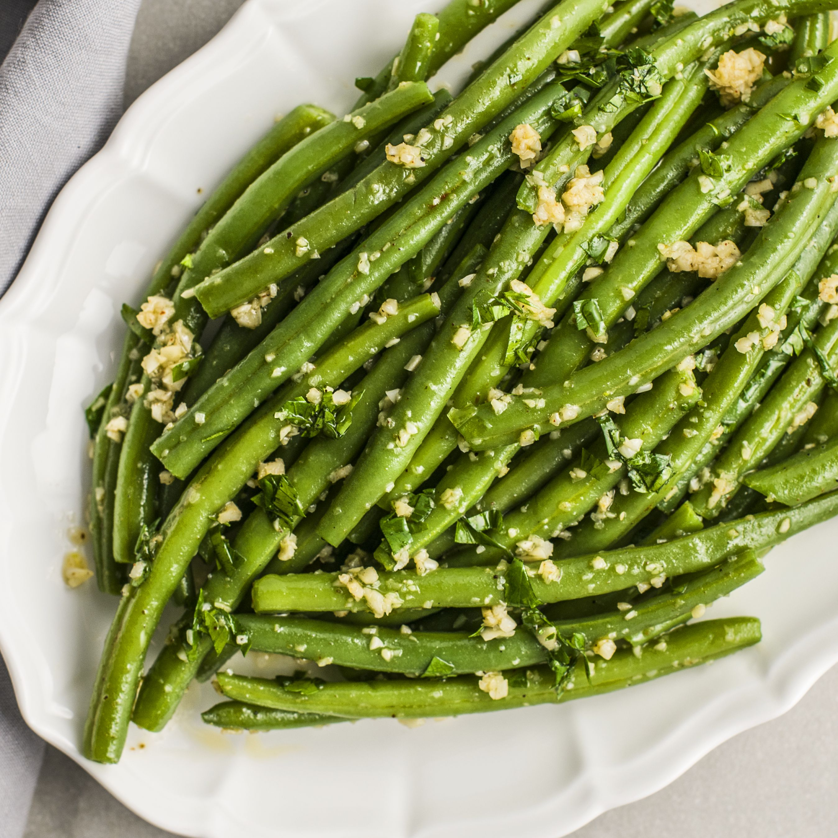 Moroccan Green Bean Saute With Garlic Recipe