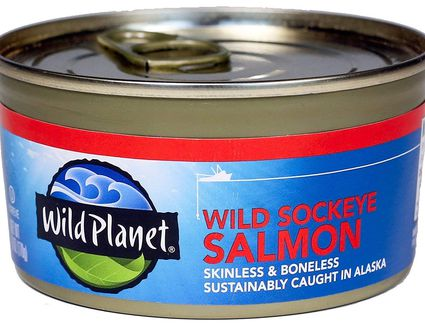 Wild Planet Canned Salmon