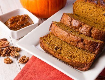Pumpkin Bread with Walnuts