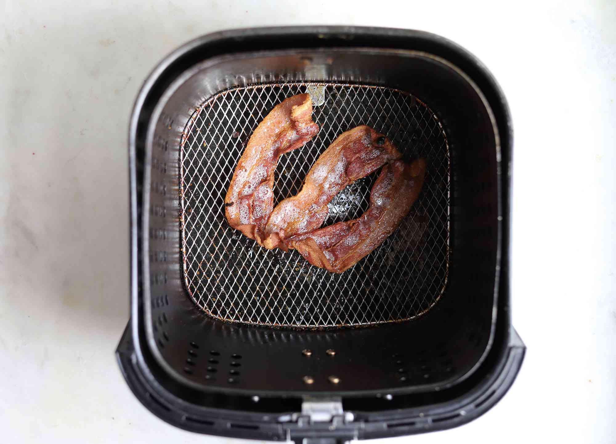 air fried bacon