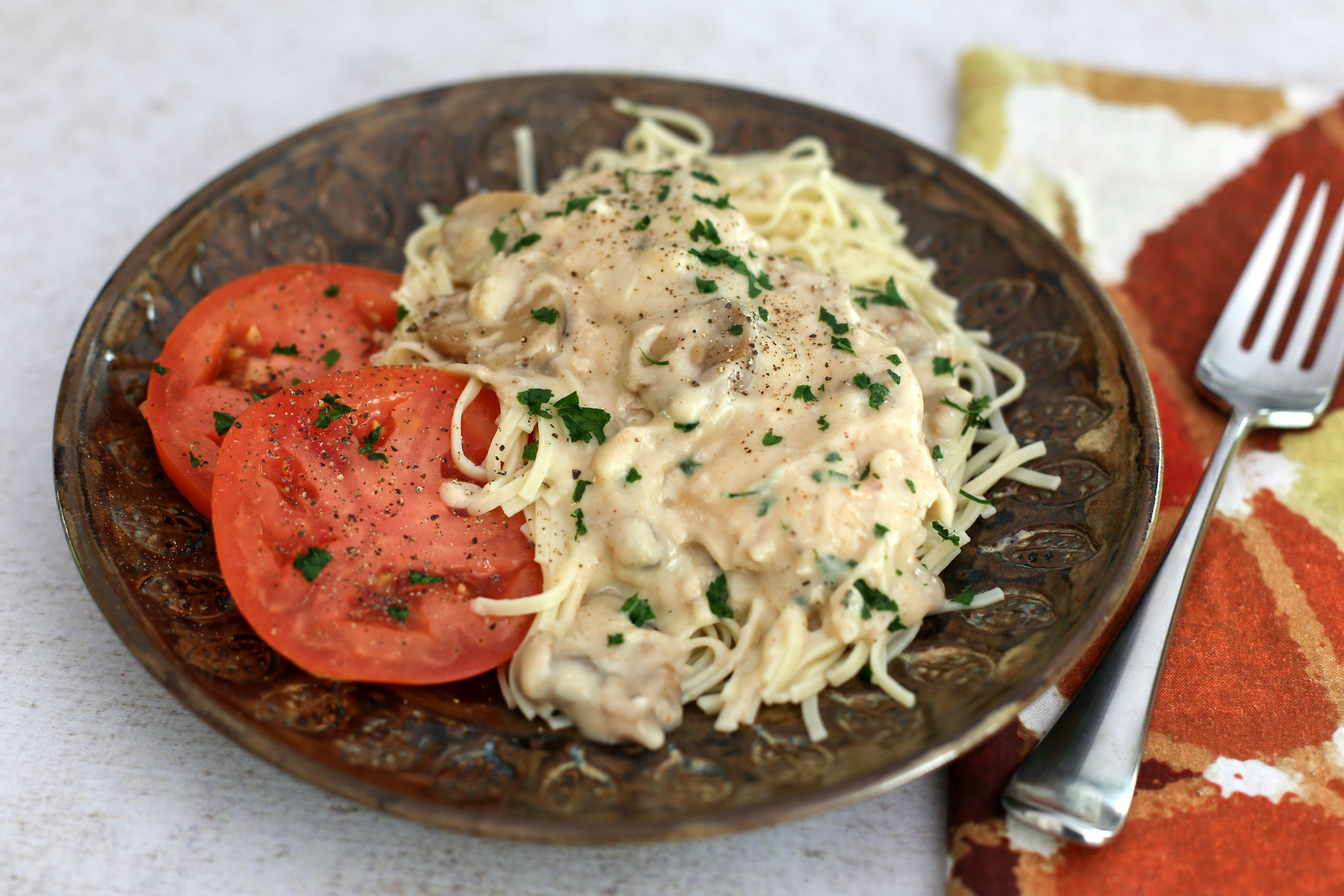 Crock Pot Chicken Parisienne With Sour Cream Sauce