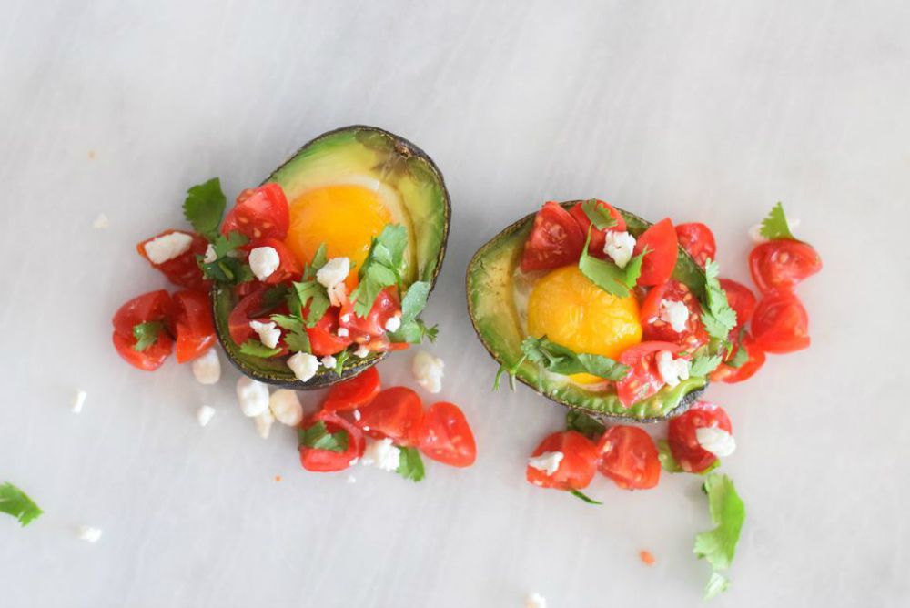 Baked Avocado Eggs (With Variations)