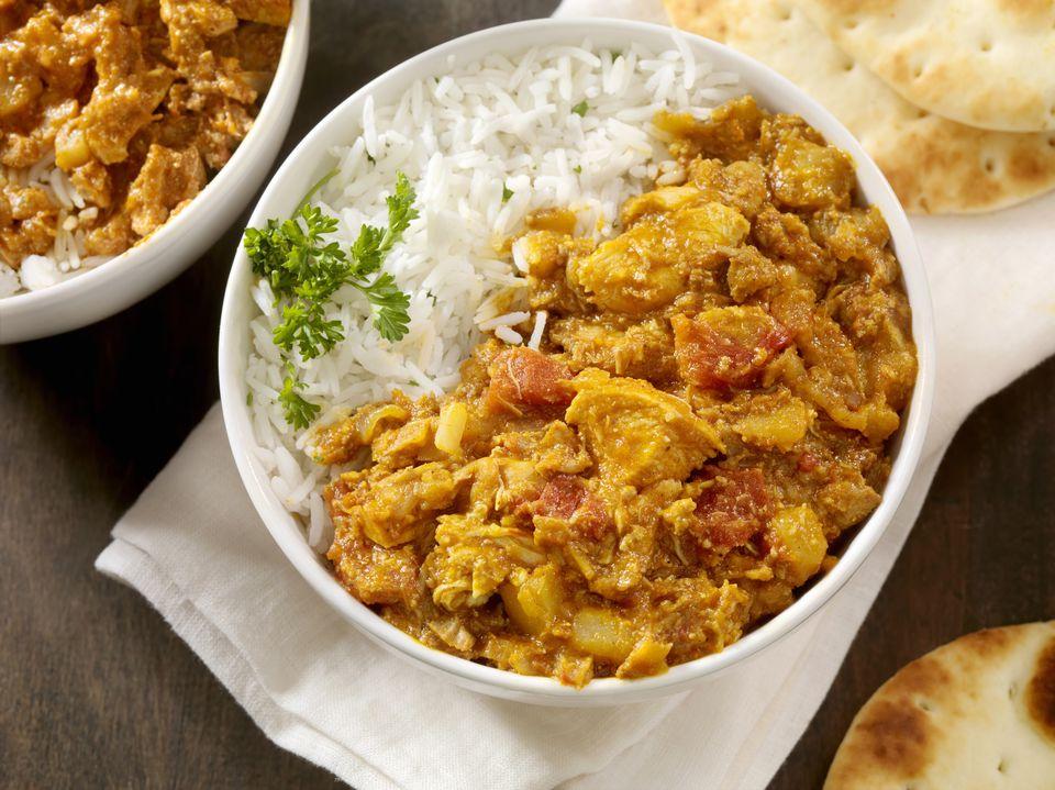 Vegetarian Chicken masala