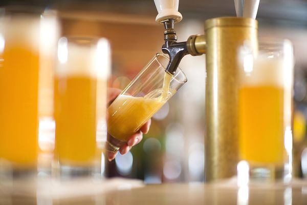 Beer from the tap