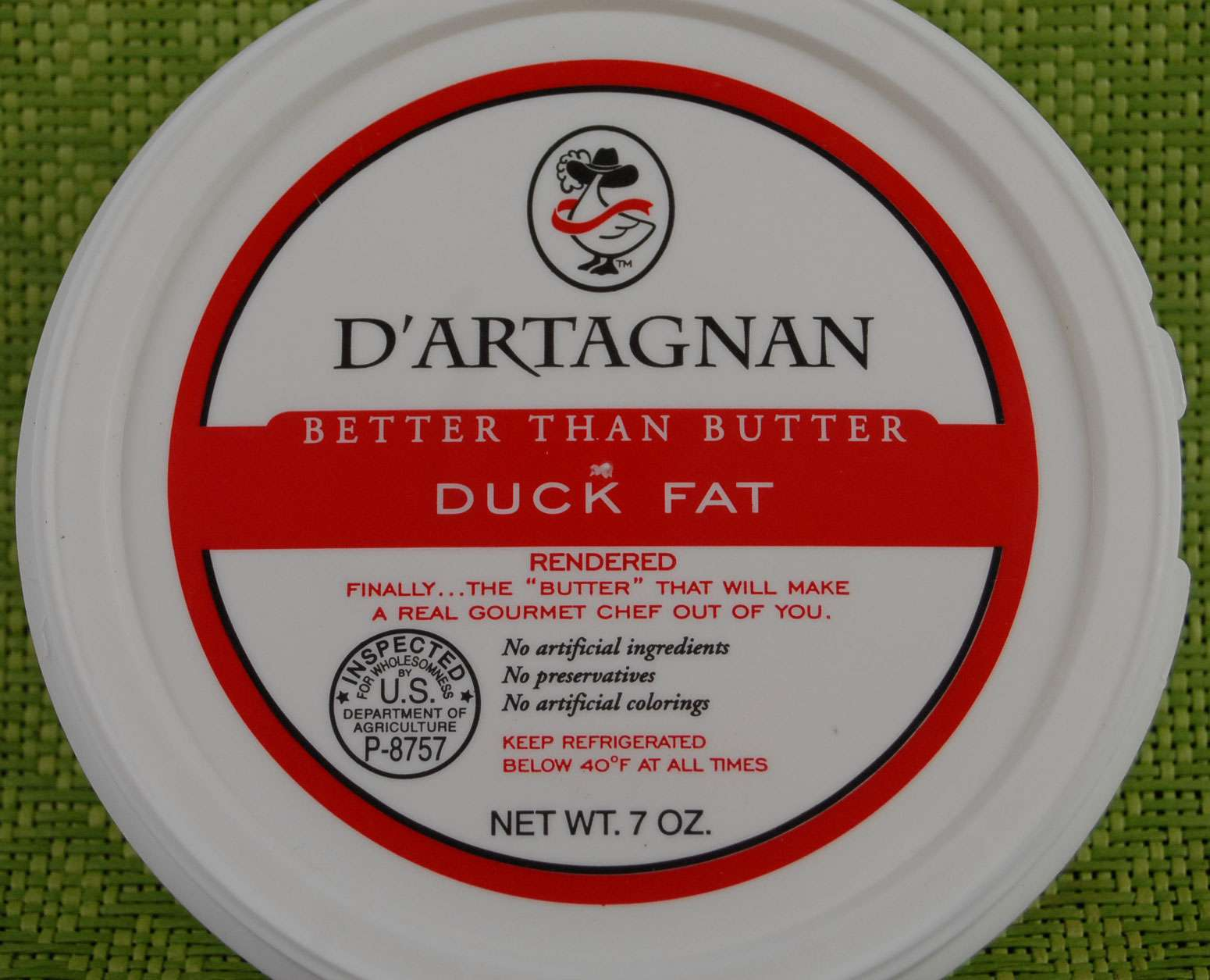 D'Artagnan duck fat