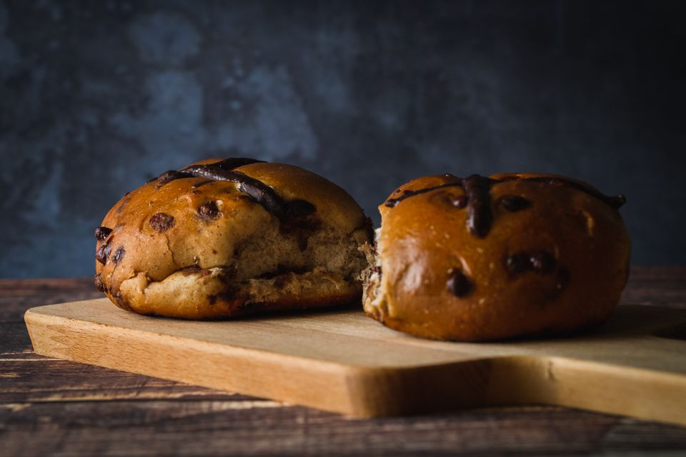 Easter Celebration Hot Cross Buns