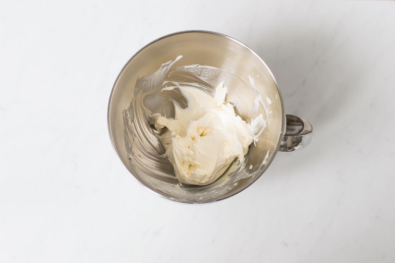 Beaten cream cheese