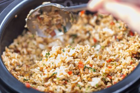 Guyanese Chicken Cook Up Rice Recipe