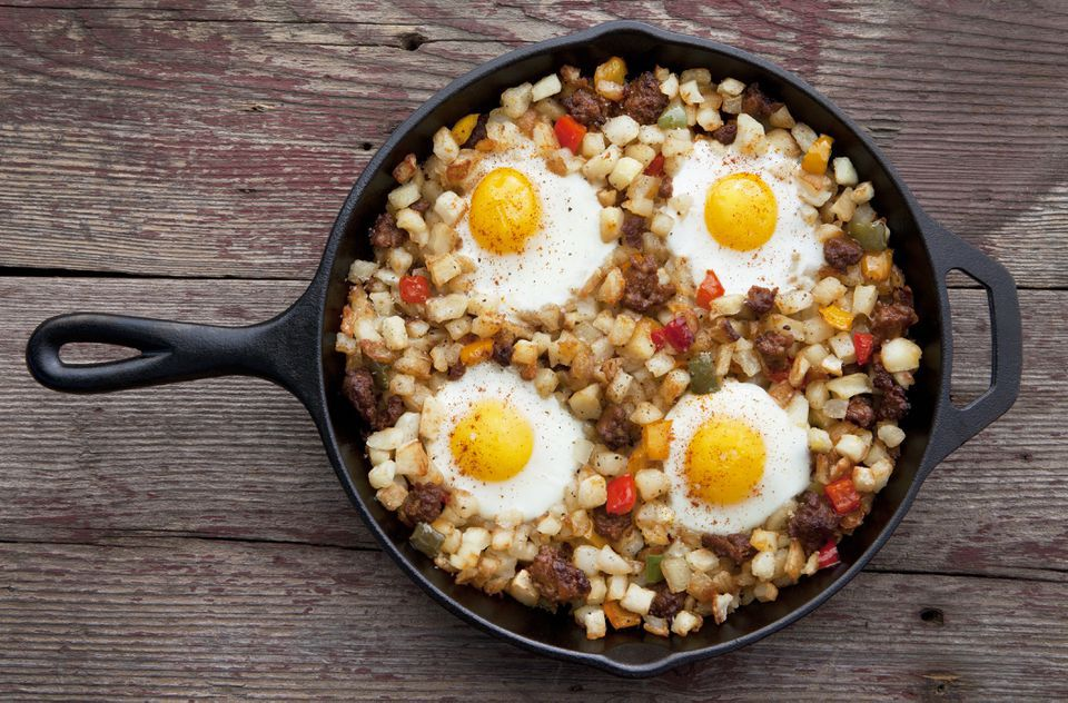 Easy Baked Beef Hash With Potatoes
