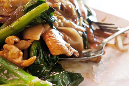 Chinese Broccoli Chicken Recipe With Oyster Flavored Sauce