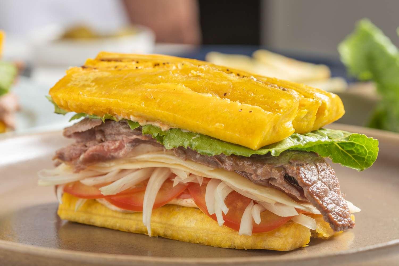 Plantain sandwich recipe jibarito