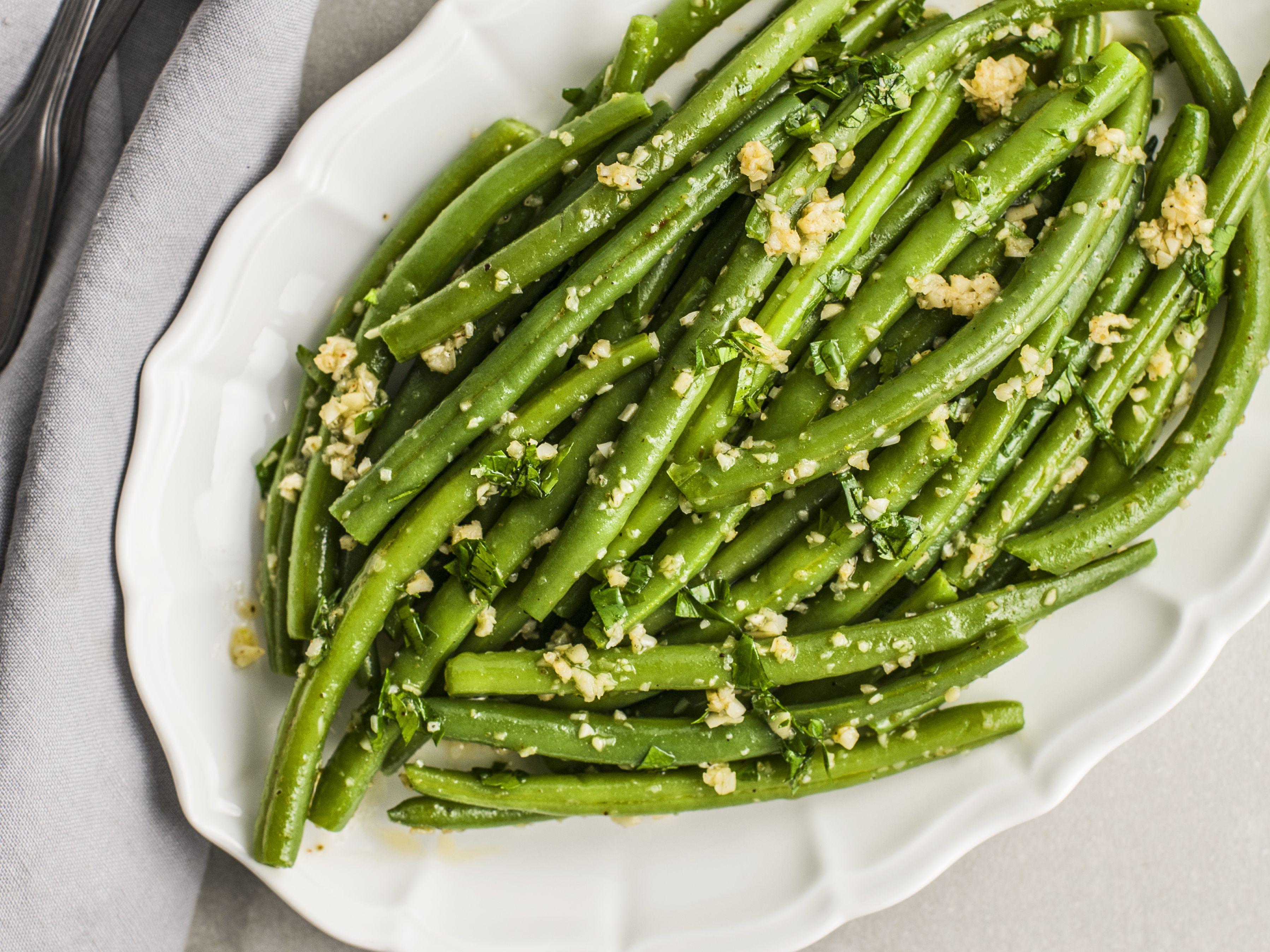 Moroccan Green Bean Saute With Garlic Recipe