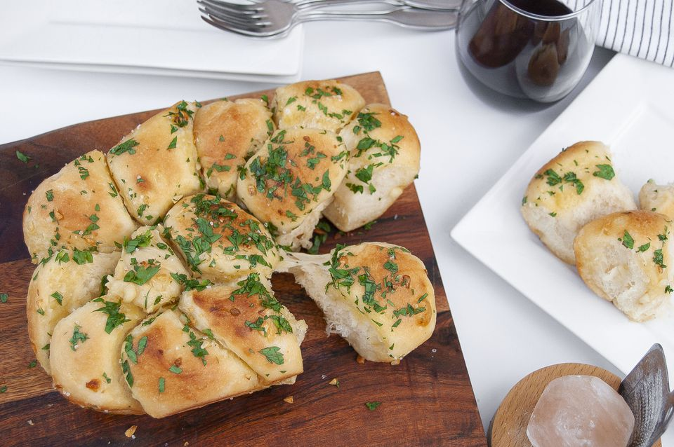 Pull-Apart Garlic Bread