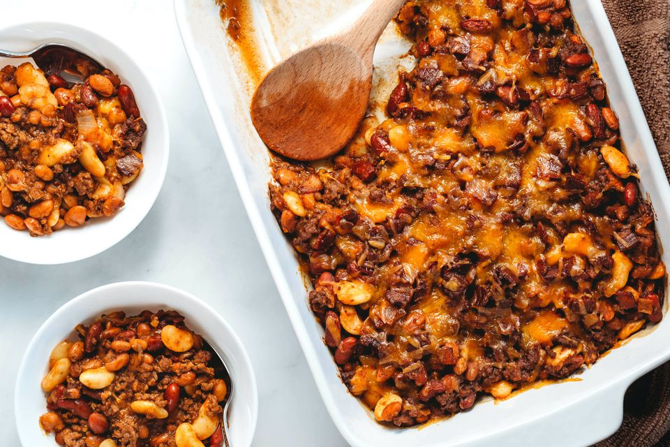 Cowboy Beans With Ground Beef