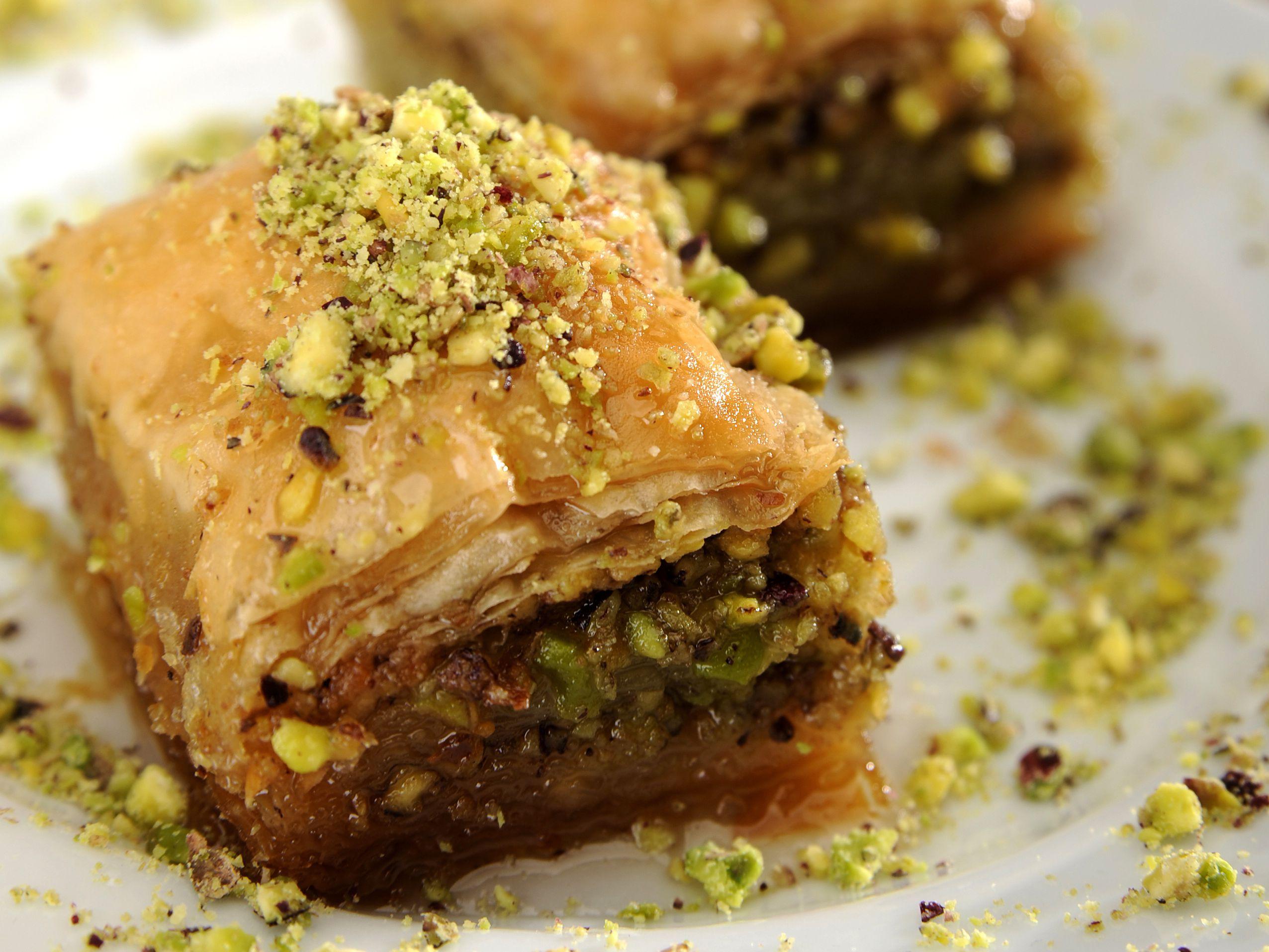 Middle Eastern Pistachio Baklava Recipe