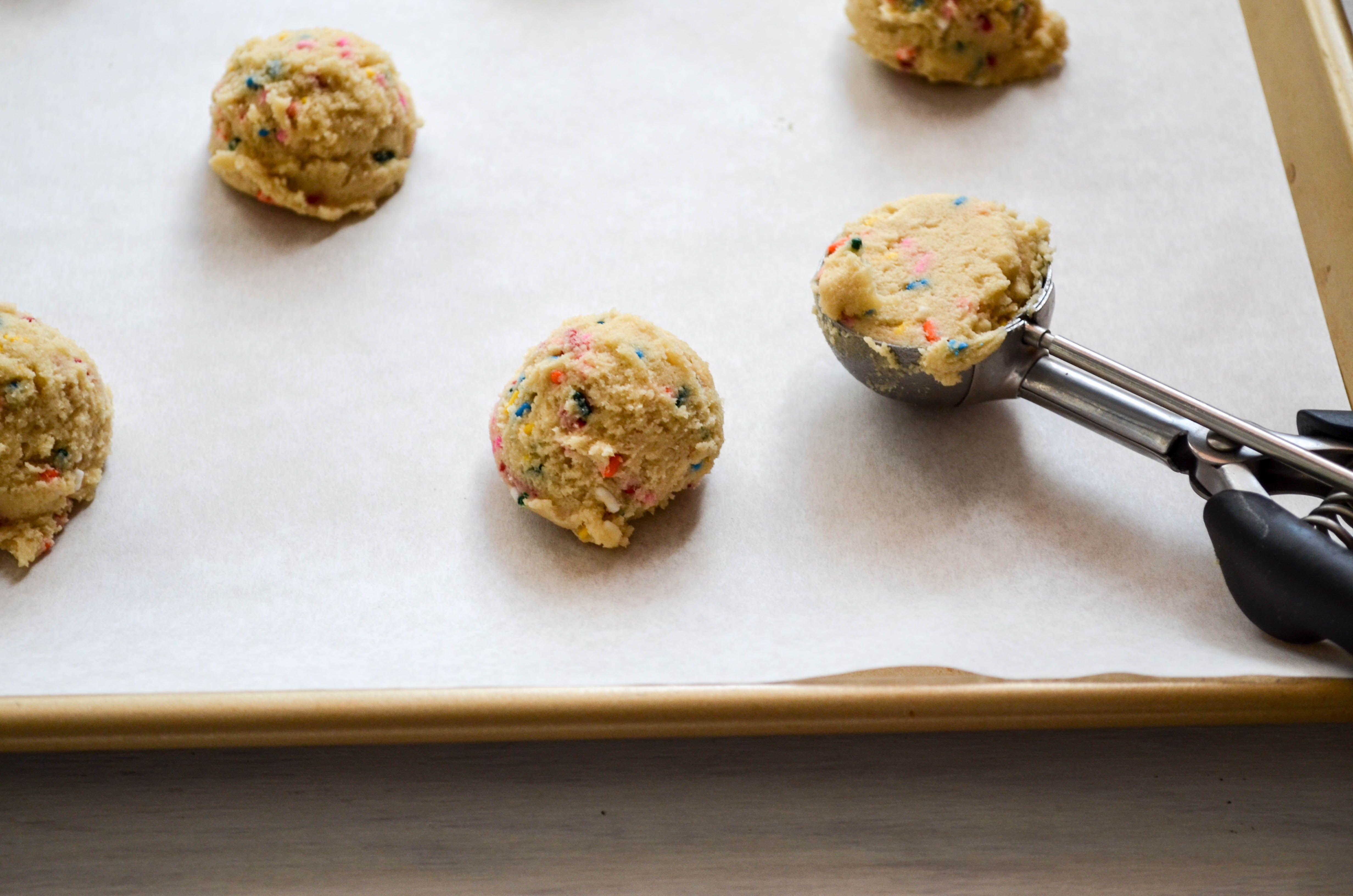 Funfetti Cookie Dough