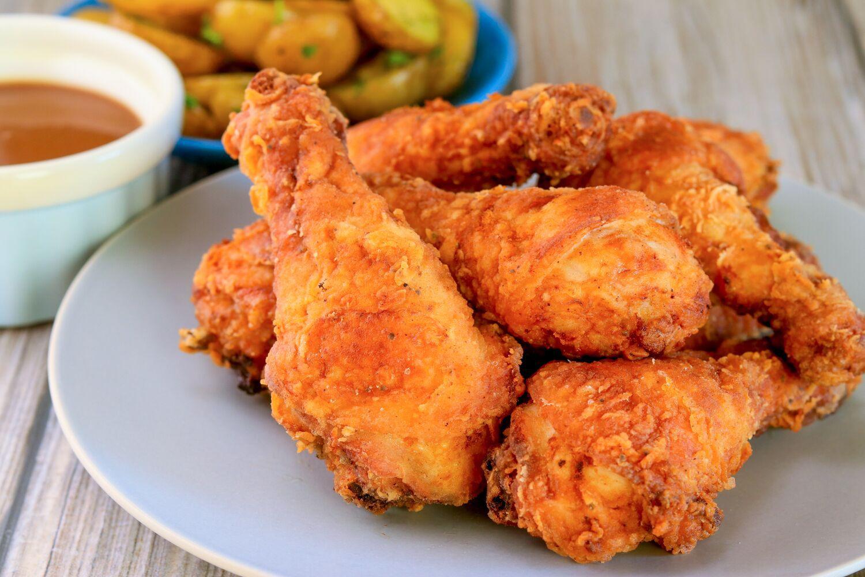 Fried Chicken: Crispy Fried Chicken Drumsticks Recipe