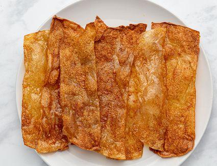Vegan Rice Paper Bacon