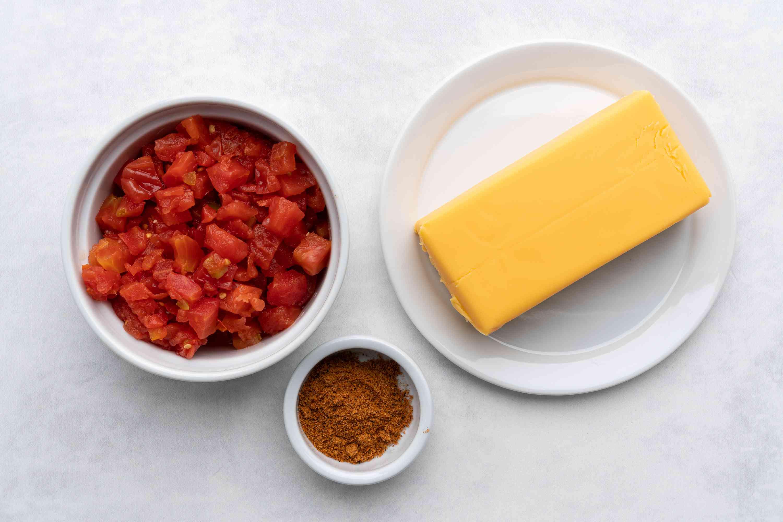 Crock Pot Velveeta Mexican Cheese Dip ingredients