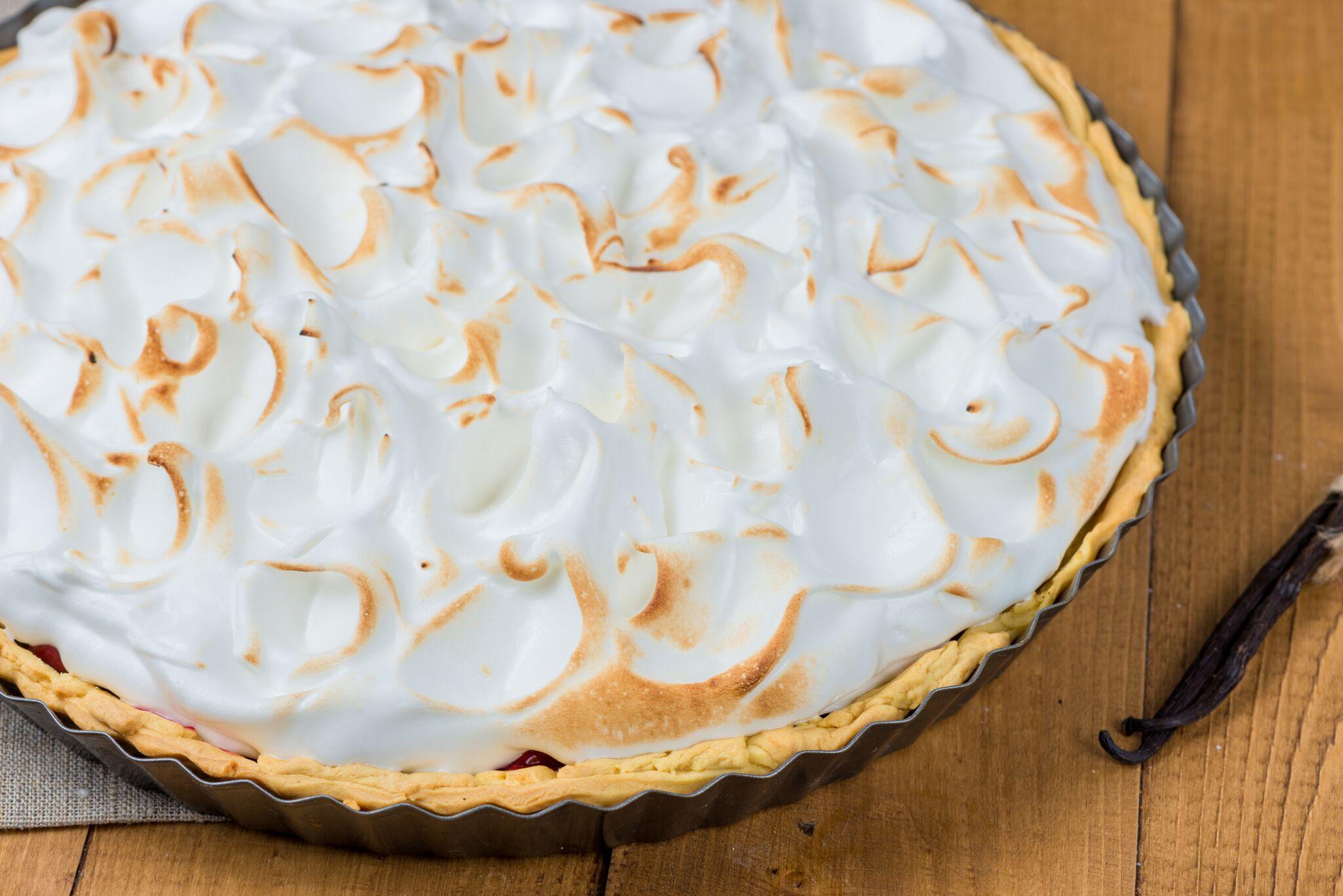 Classic Meringue Pie Topping Recipe