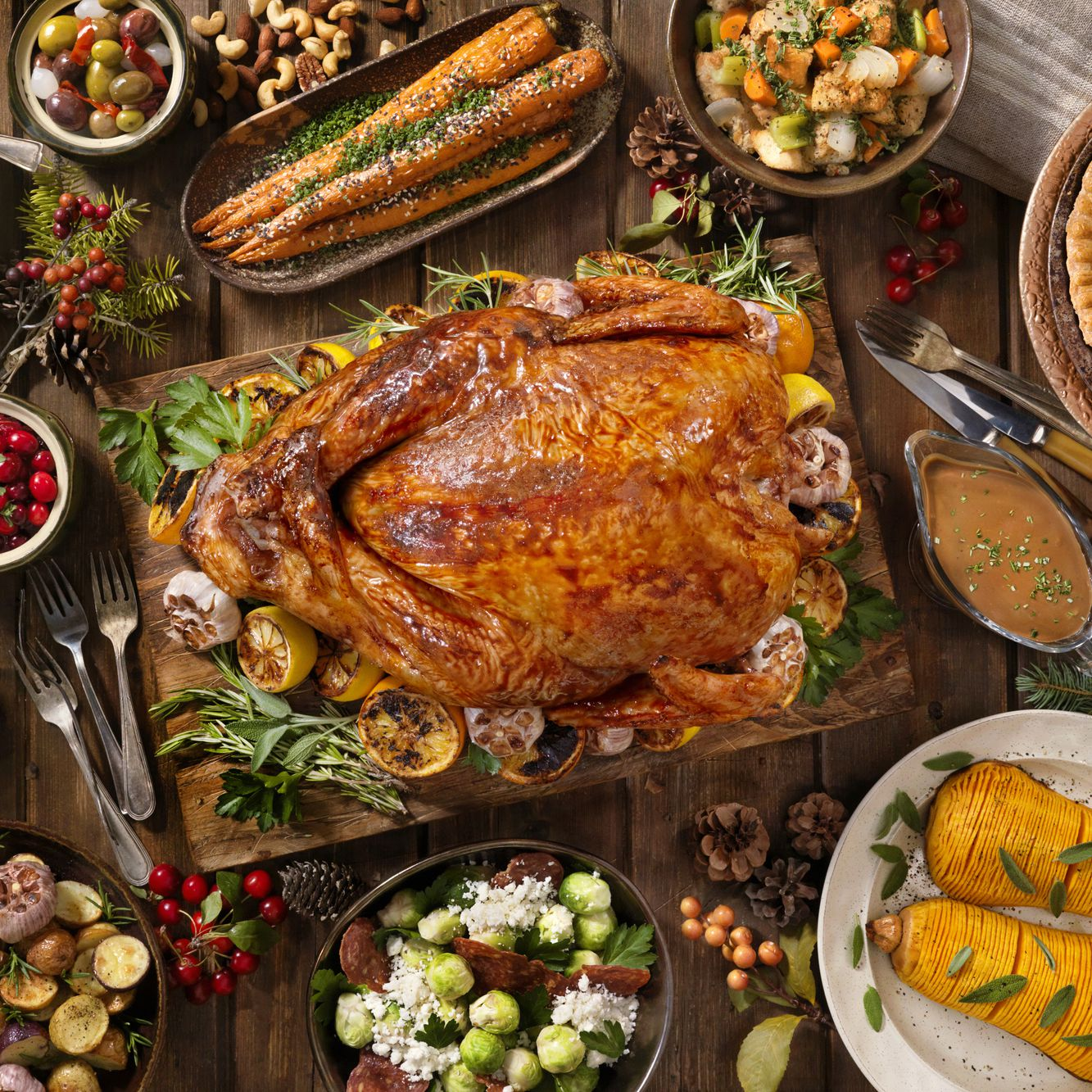 Classic Thanksgiving Menu and Recipes