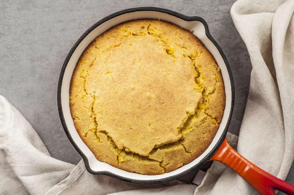 Buttermilk Cornbread With Cream-Style Corn