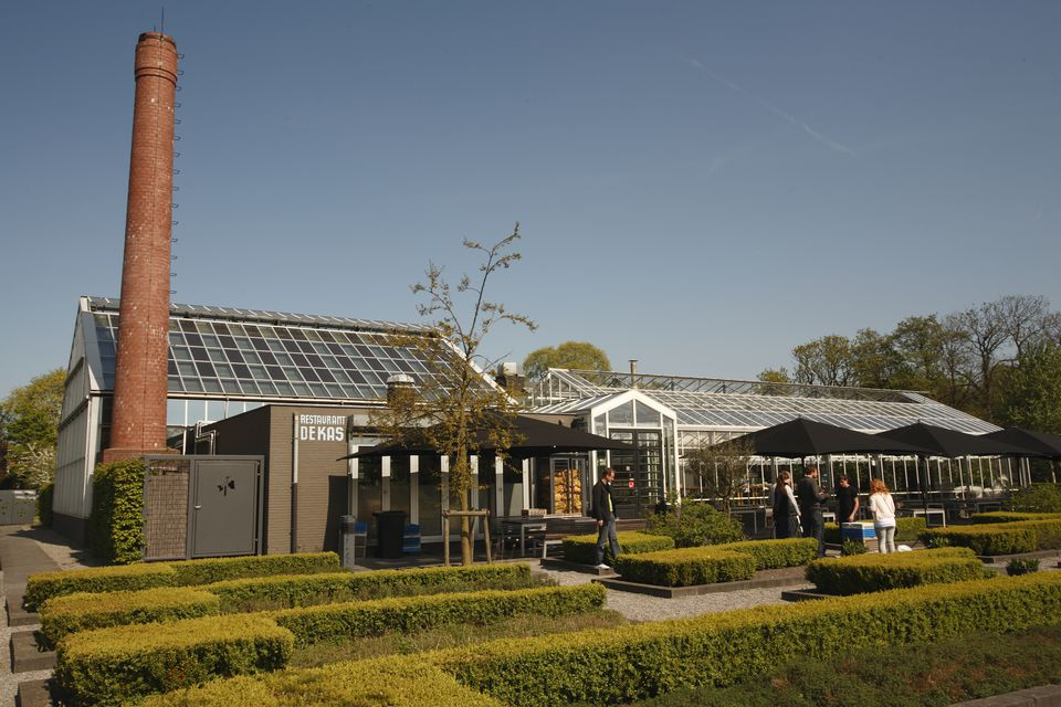 Restaurant De Kas, 'the greenhouse', in Amsterdam