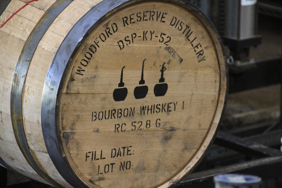 Woodford Reserve Barrel at the Distillery