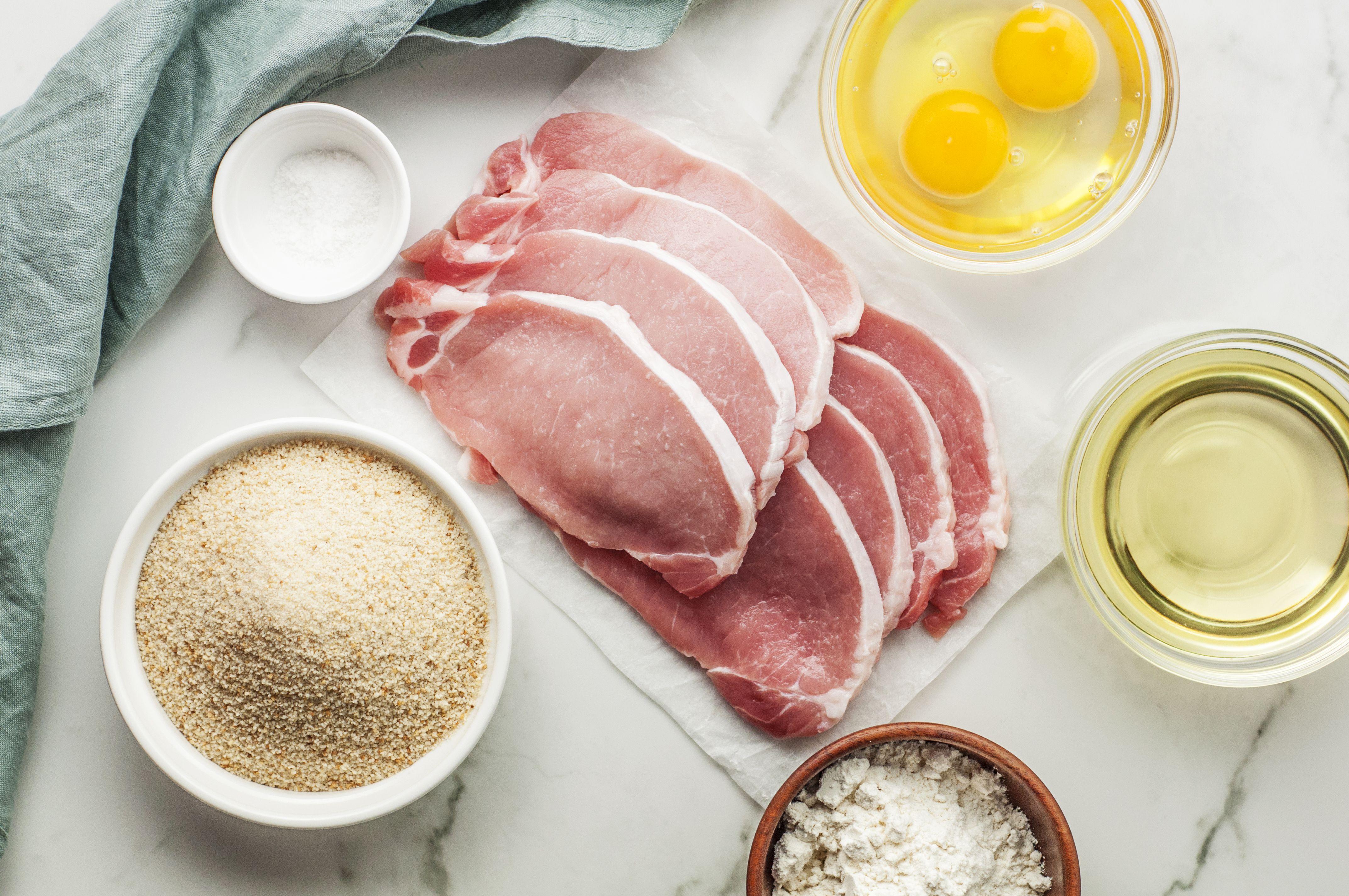 Authentic Wiener Schnitzel Recipe ingredients