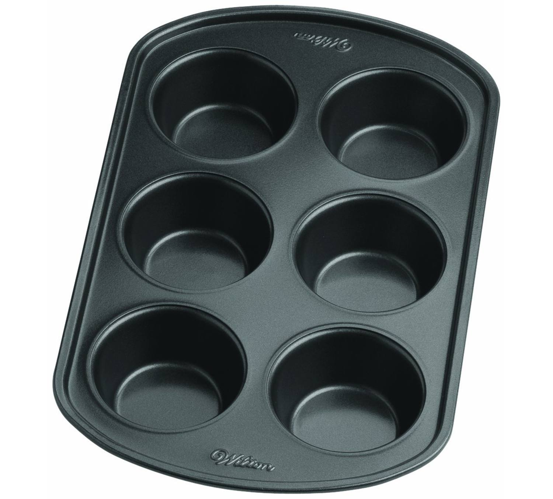 6 hole muffin pan