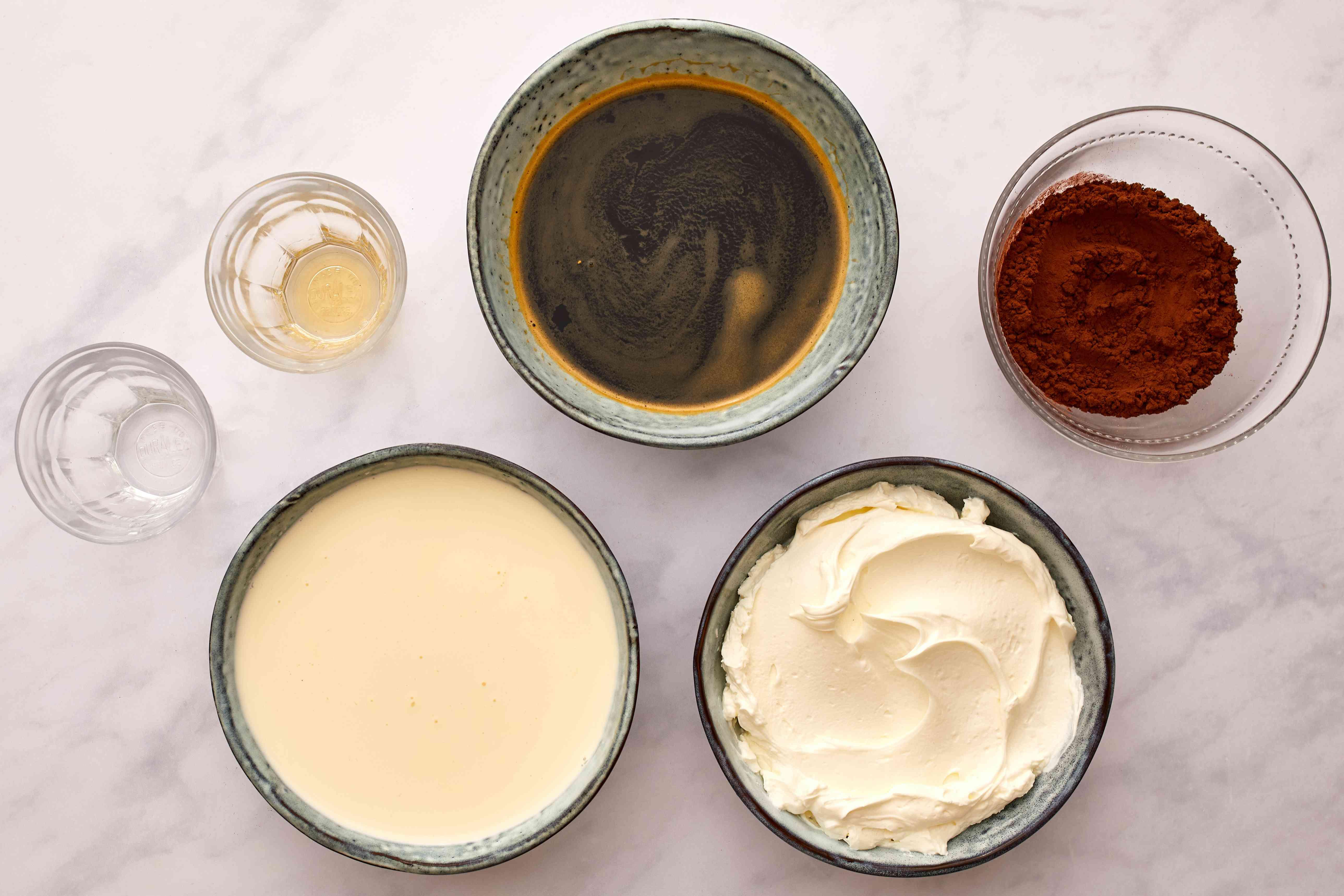 filling ingredients gathered