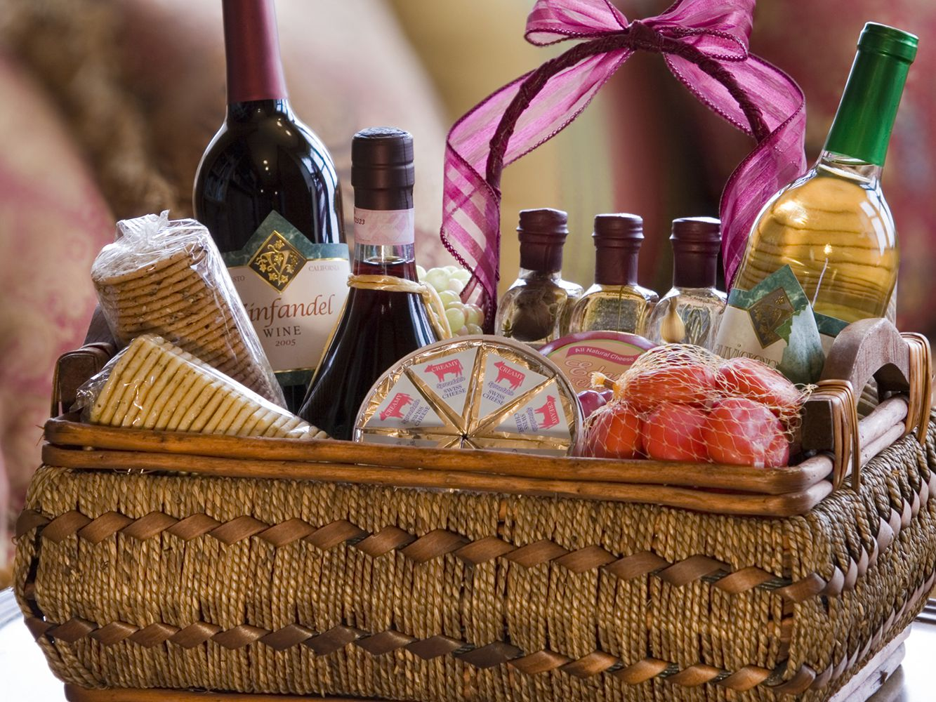 Own Personalized Cocktail Gift Basket
