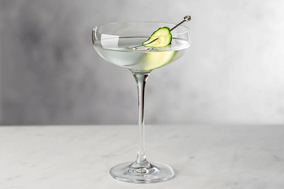 Saketini sake martini