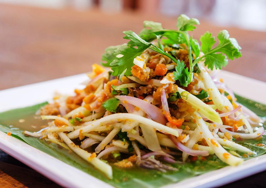 Thai Crab Salad With Creamy Coconut-Lime Dressing